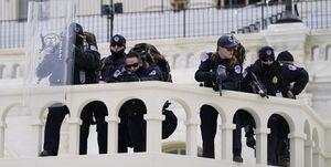 دهها پلیس ساختمان کنگره به کرونا مبتلا شدند