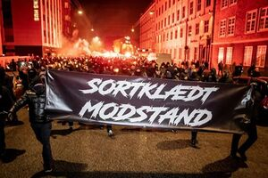 عکس/ اعتراضات علیه محدودیتهای کرونایی در دانمارک
