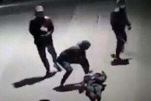 تصاویری تکاندهنده از حمله به یک نوجوان خارجی در پاریس