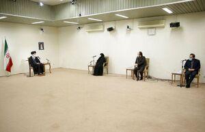 عکس/دیدار خانواده شهید فخری زاده با رهبرانقلاب