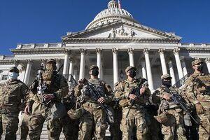 ۷۰۰۰ نیروی گاردملی تا اواخر اسفند در واشنگتن باقی میمانند