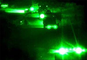دو کاروان لجستیک آمریکا در عراق منهدم شدند
