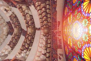 عکس/ نمایی زیبا از ارگ کریم خان