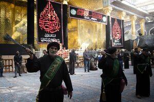 عکس/ عزاداری وفات حضرت ام البنین(س) در کربلا