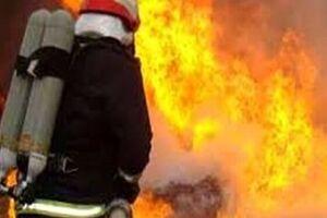 فیلم/ جزئیات آتشسوزی ساختمان نیمه کاره در کرج