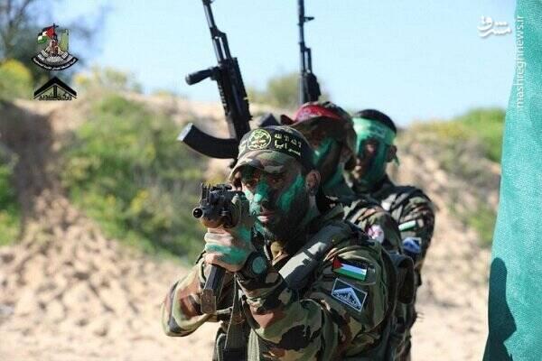 وحدت بی سابقه ۱۲ شاخه نظامی مقاومت فلسطین/ سایت ارتش رژیم صهیونیستی: پیام نظامی ایران در یک قدمی اسرائیل