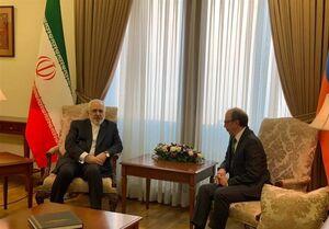 دیدار ظریف با وزیر خارجه ارمنستان