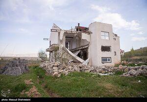 تخریب ویلای میلیاردی دو مسئول در فیروزکوه