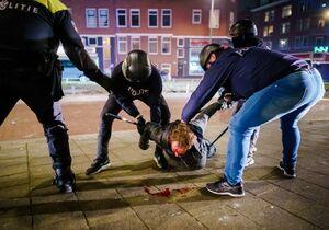 عکس/ عاقبت اعتراض در هلند
