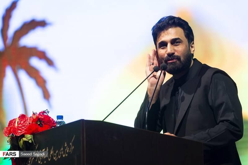 مدیحهسرایی صابر خراسانی در نخستین مراسم سالگرد شهادت شهید اصغر پاشاپور