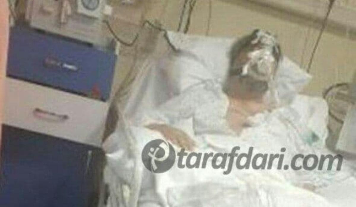 آخرین عکس از مهرداد میناوند روی تخت بیمارستان