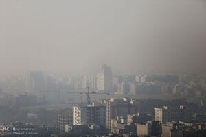 تهران و ۵ شهر دیگر هوای ناسالم دارند