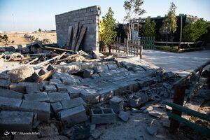عکس/ تخریب ساخت و ساز غیر مجاز