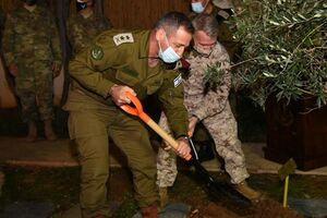 فرمانده تروریستهای «سنتکام» وارد فلسطین اشغالی شد
