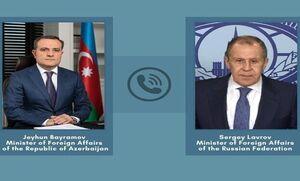 وزیران خارجه روسیه و جمهوری آذربایجان در مورد توافق قرهباغ گفتوگو کردند