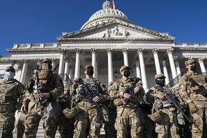750 نفر از نیروهای گارد ملی مراسم تحلیف بایدن کرونا گرفتند - کراپشده