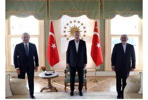 عکس/ دیدار ظریف با اردوغان