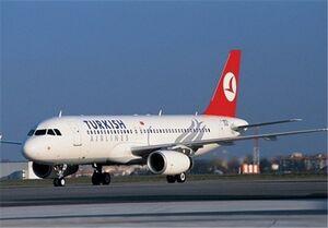 هواپیمای ترکیش ایر پس از مساعد شدن شرایط جوی به تهران بازگشت