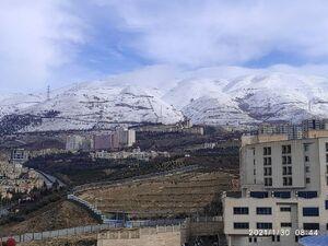 عکس/ هوای پاک تهران بعد از یک روز بارانی
