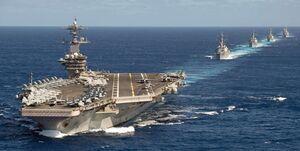 چین حمله به ناو هواپیمابر آمریکا را شبیهسازی کرد