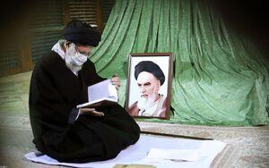 عکس/ حضور رهبر انقلاب در مرقد مطهر امام (ره)