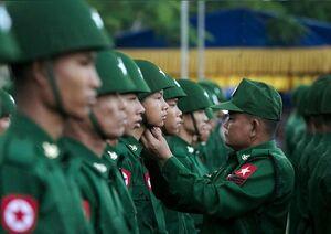 بازداشت رئیس جمهور و مقامات بلندپایه میانمار/ استقرار گسترده ارتش در پایتخت/ آمریکا تهدید کرد