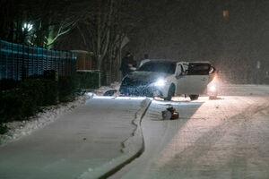 عکس/ طوفان و برف در آمریکا