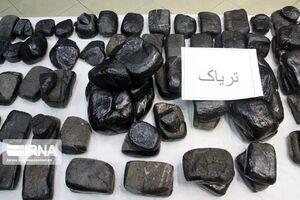 یک تن و ۳۴۰کیلوگرم تریاک در بندرلنگه کشف شد