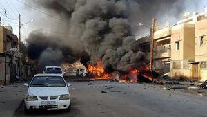 وقوع چند انفجار مهیب در حلب سوریه