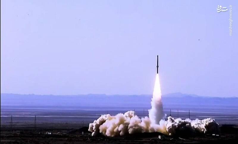 عکس/ پرتاب موفق موشک ماهوارهبر «ذوالجناح» به فضا