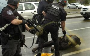 فیلم/ ضرب و شتم یک سیاهپوست توسط پلیس آمریکا