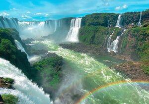 عکس/ یکی از زیباترین آبشارهای جهان
