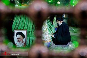 تجدید میثاق رئیس قوه قضائیه با آرمانهای امام راحل