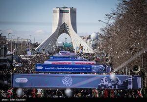 برگزاری راهپیمایی ۲۲ بهمن به صورت موتوری و خودرویی در پایتخت
