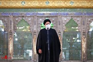 عکس/ رئیس قوهقضائیه در حرم مطهر امام (ره)