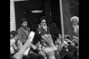۱۴ بهمن ۱۳۵۷، دیدار مردم با امام خمینی (ره)