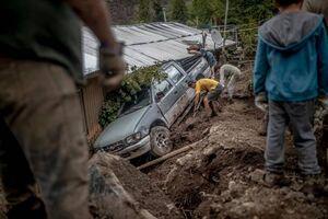 عکس/ سیل ویرانگر در شیلی