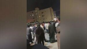 تظاهرات در القصیم و سرکوب اعتراضات توسط پلیس عربستان