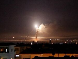 حمله جنگندههای اسرائیلی به جنوب سوریه