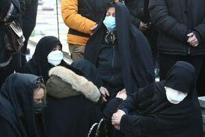 عکس/ احوال دردناک مادر علی انصاریان