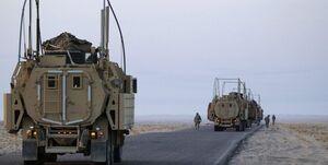 ۲ کاروان آمریکا در عراق هدف قرار گرفتند