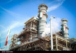 عکس/ بهرهبرداری از نیروگاه سیکل ترکیبی سبلان باحضور سردار سلامی