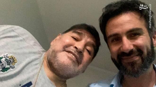 افشای آخرین حرفهای مارادونا قبل از مرگ