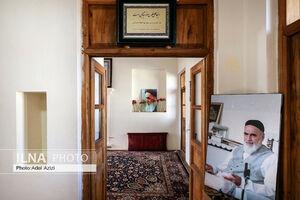 عکس/ خانه تاریخی زیبای امام خمینی(ره) در خمین