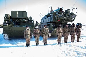 موشک جدید ضد هوایی برای قزاقستان+عکس