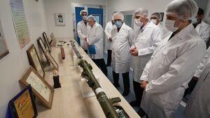 عکس/ افتتاح خط تولید انبوه موشکهای دوشپرتاب پیشرفته