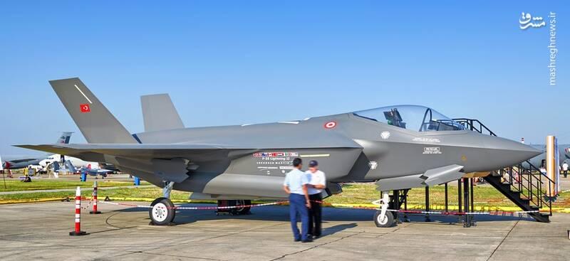 ترکیه همچنان از دریافت جنگنده F۳۵ محروم میماند