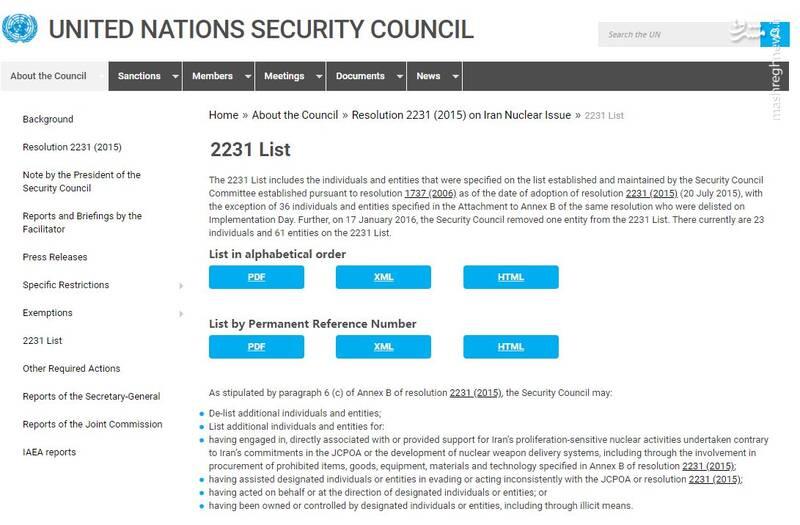 آقای ظریف؛ قطعنامه ۲۲۳۱ را درست نخواندهاید!