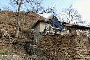 عکس/ پنلهای خورشیدی در مازندران
