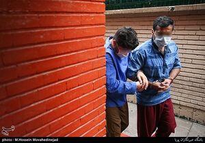 عکس/ دستگیری سارقان منزل در سعادت آباد